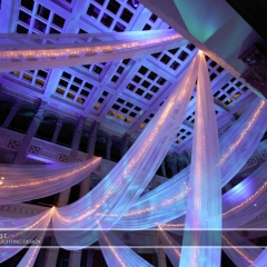 Wedding led uplighting at Landmark Center 10