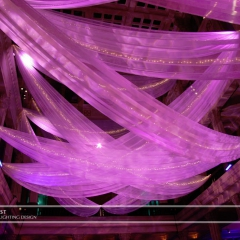 Wedding led uplighting at Landmark Center 12