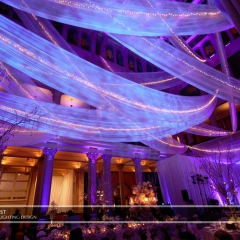 Wedding led uplighting at Landmark Center 2