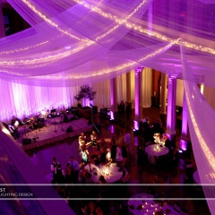 Wedding led uplighting at Landmark Center 8