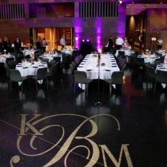Wedding led uplighting at McNamara 3