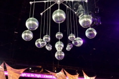 Mirror Ball Chandeliers