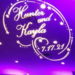 Hunter-and-Kayla-monogram-on-ceiling