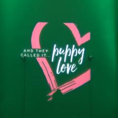 Puppy Love color monogram