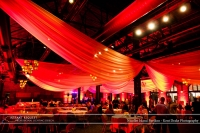Wedding led uplighting at Nicollet Island Pavilion 1