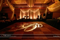 Wedding led uplighting at Northland Inn 1