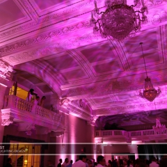 LED Wedding Uplighting at St. Paul Athletic Club 3