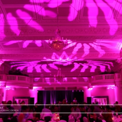LED Wedding Uplighting at St. Paul Athletic Club 4