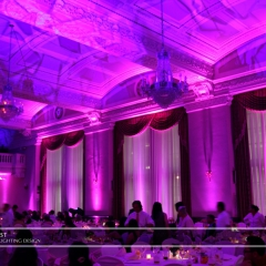 LED Wedding Uplighting at St. Paul Athletic Club 5