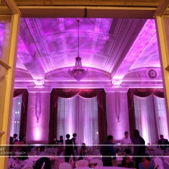LED Wedding Uplighting at St. Paul Athletic Club 6
