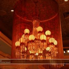 Wedding led uplighting at St Paul Hotel 12