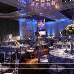 Wedding led uplighting at St Paul Hotel 4
