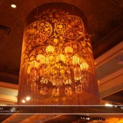 Wedding led uplighting at St Paul Hotel 8