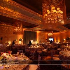 Wedding led uplighting at St Paul Hotel 9