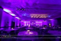 Wedding led uplighting at Westin 5