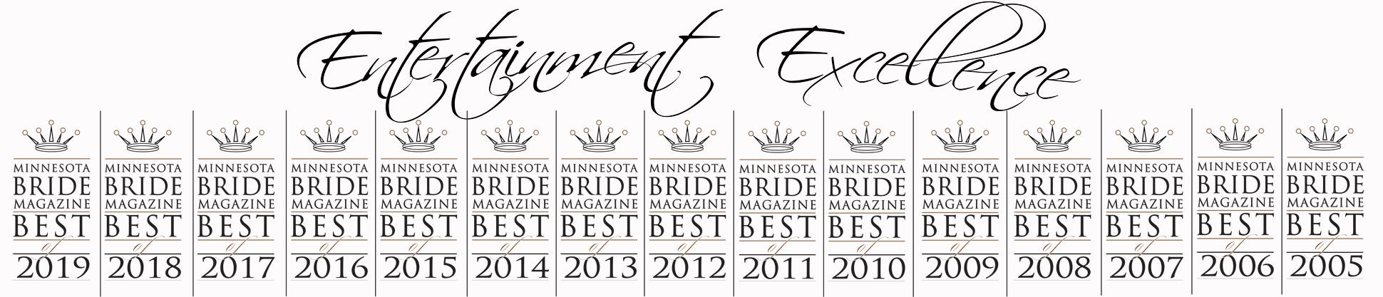 15 Consecutive MN Bride awards